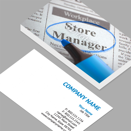 Regional sales manager business cards standard horizontal regional sales manager business cards store manager join our team 3d standard colourmoves